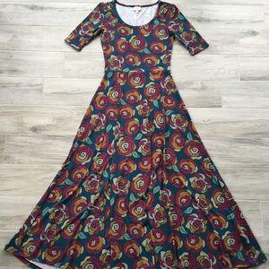 EUC LulaRoe Ana Dress - Small